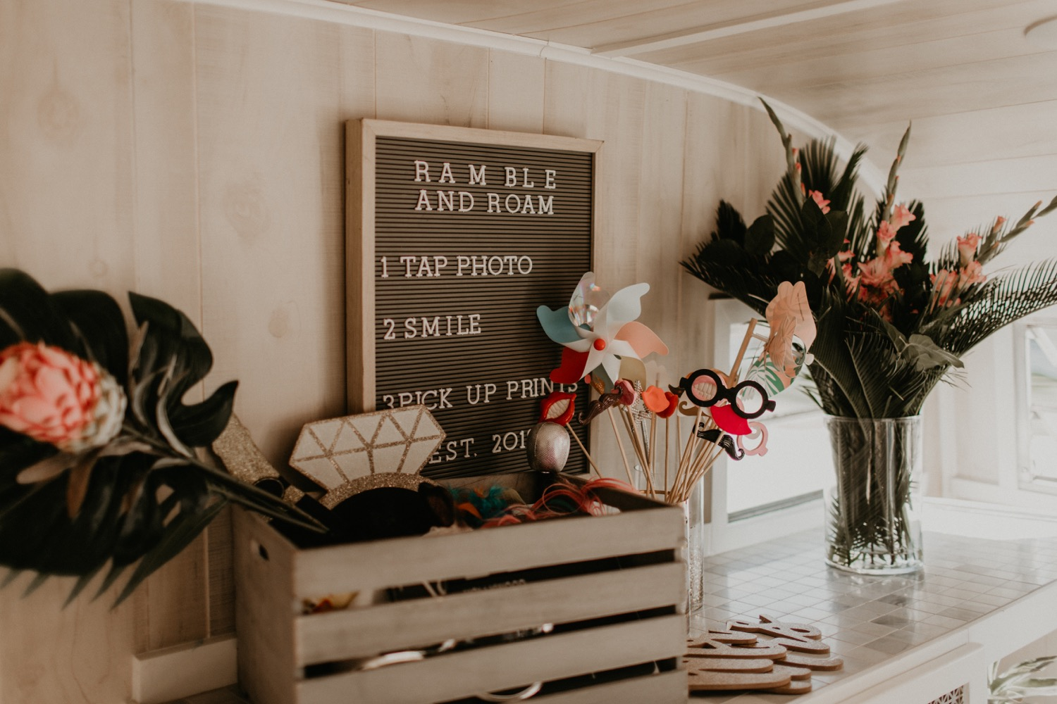 Photo Booth inspiration for your wedding canvas prints