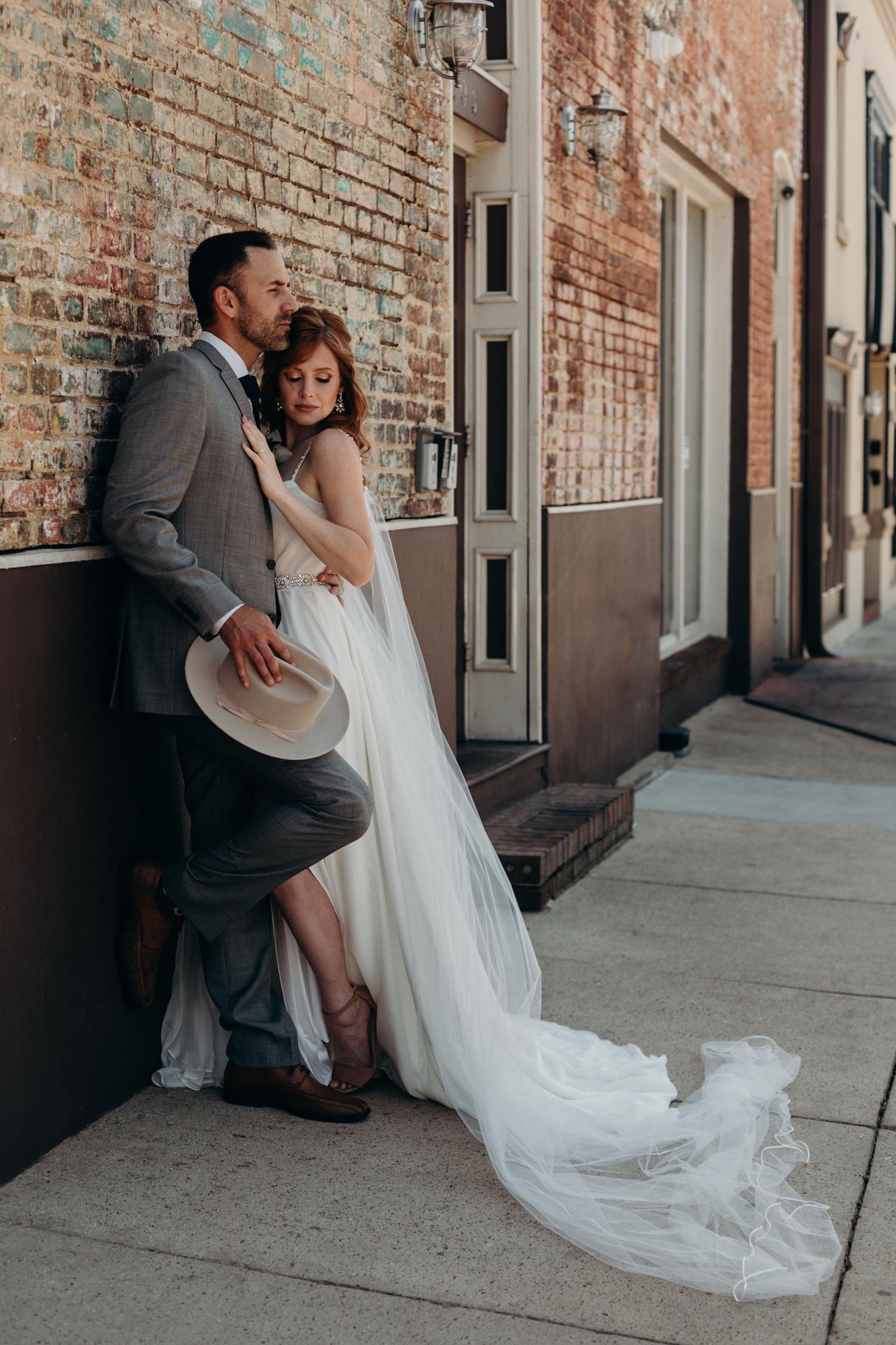 creative street photographer for weddings on canvas