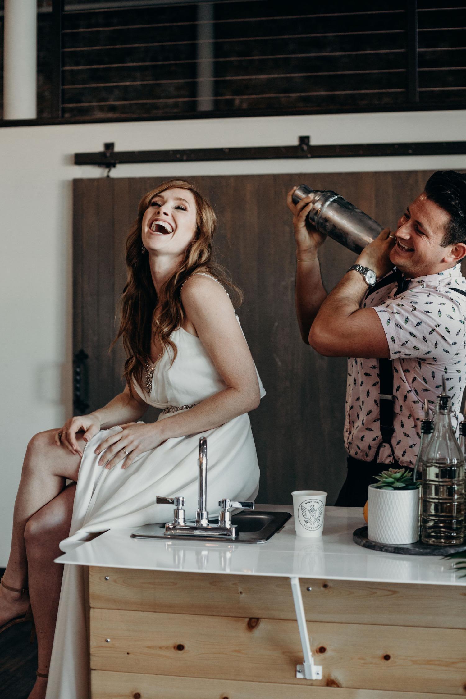 coffee bar wedding venue Dallas canvas prints