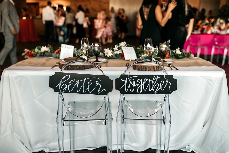 bride and broom seats wedding canvas inspo